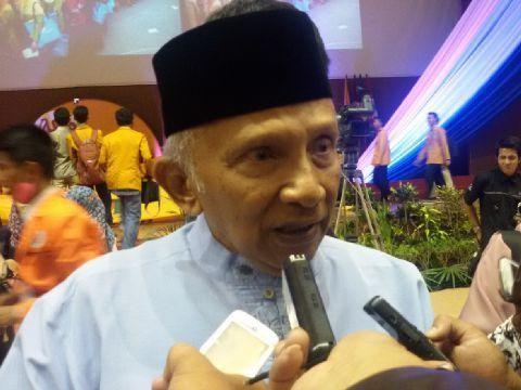 Perppu Ormas, Amien Rais: Langkah Jokowi dari Keliru ke Salah
