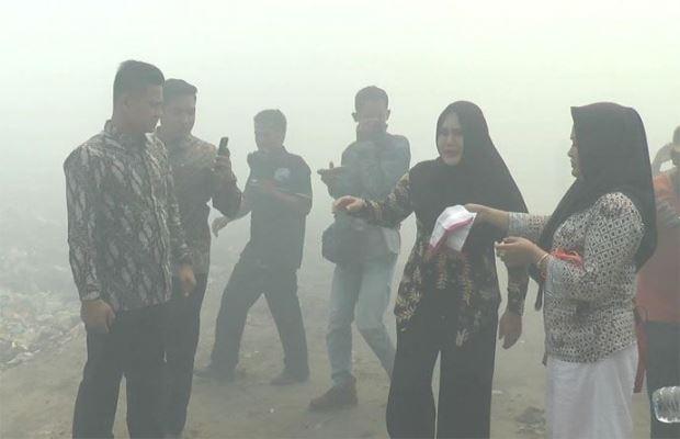 Tersebab Asap Karhutla, 124 Warga Rupat Terpapar ISPA