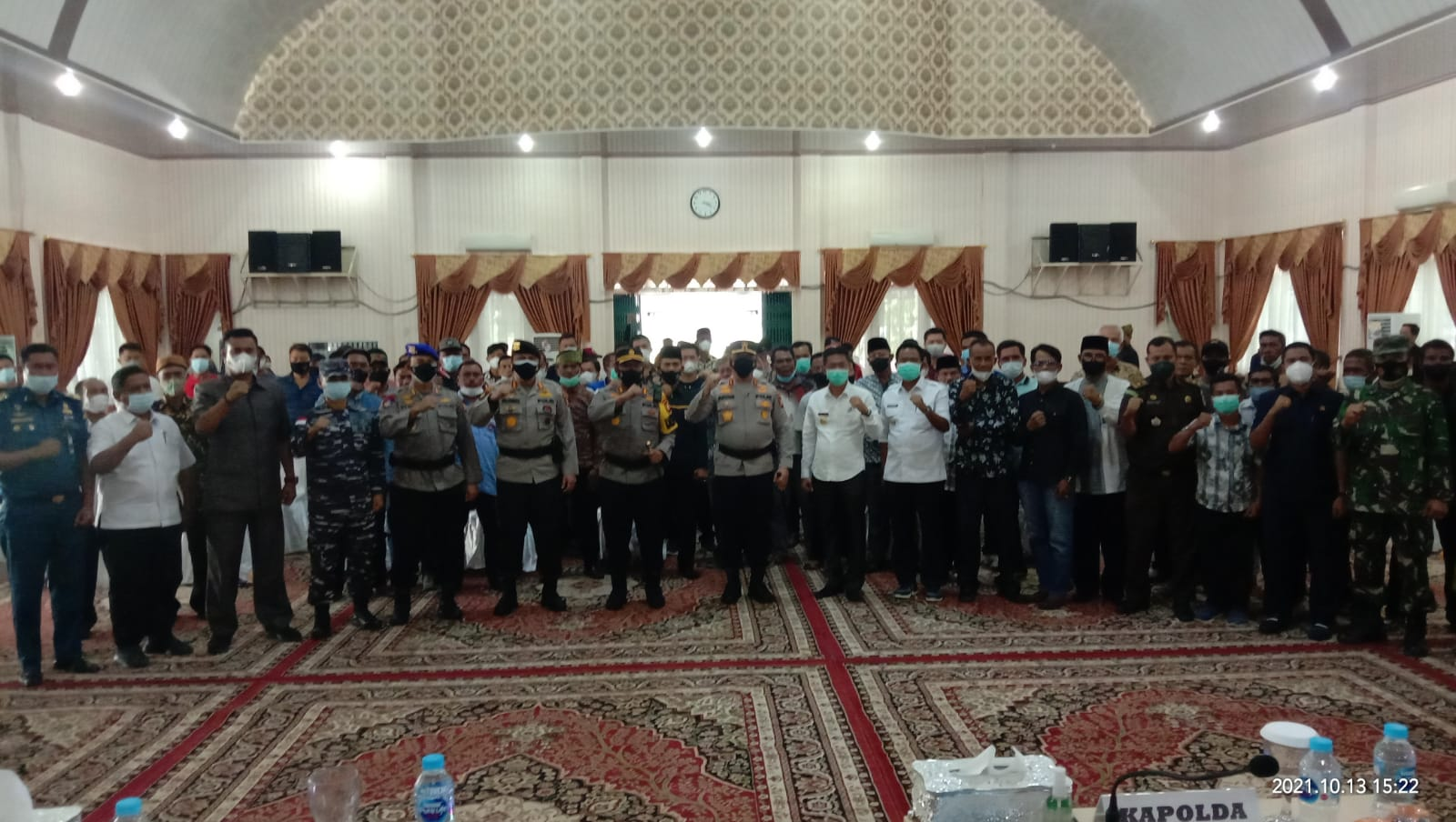 Kapolda Riau: Rohil Harus Bisa Memproduksi Produk Turunan CPO