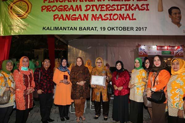*TP PKK Inhil Raih Juara I Kategori Menu Sarapan Pagi*