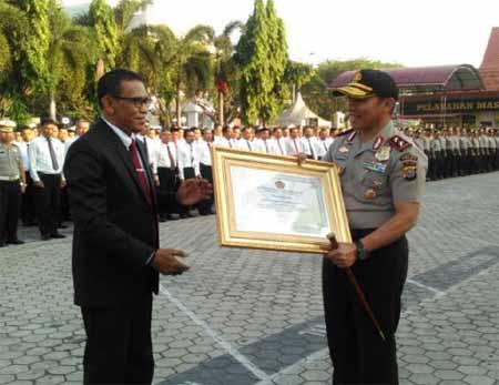 Polda Riau Raih Prediket Terbaik dalam Laporan Keuangan