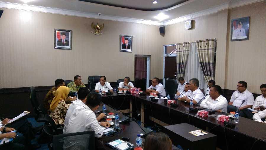 BPK RI Lakukan Pemeriksaan Sebulan, Kepala SKPD di Meranti Jangan Keluar Daerah