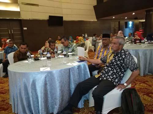 Bupati H Mursini Ikuti Rakor Pengawasan Daerah Provinsi Riau 2017