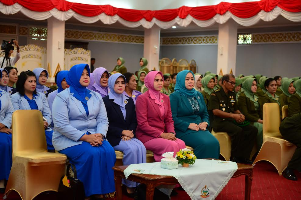 Sertijab Ketua Persit Kartika Kirana Koorcab Rem 031 PD I /Bukit Barisan