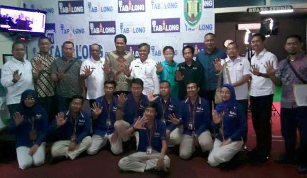 Didampingi TP4D, Diskominfops Inhil Kunjungi Tabalong TV, Kalsel