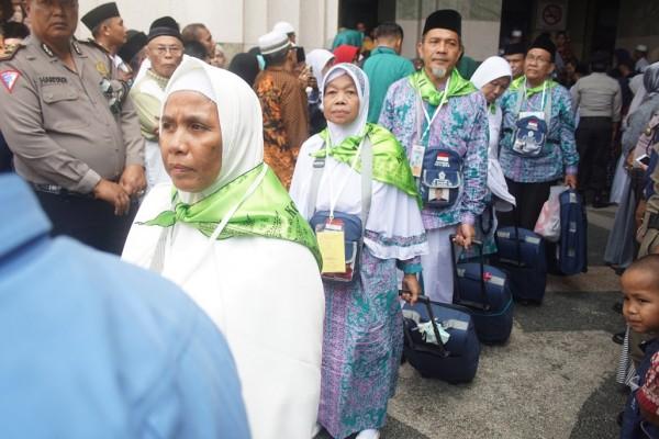 2.212 Jemaah Haji Riau Tiba di Tanah Air