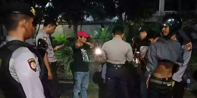Antisipasi Gangguan Kamtibmas, Polres Inhil Giatkan Patroli