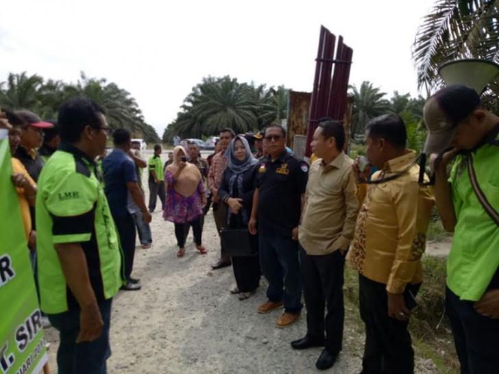 PT SIR Perawang  siap Menunggu Pengaspalan Jalan Siak-Pekanbaru