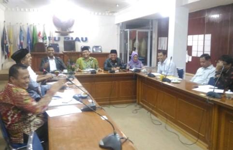 Bahas Aturan Kampanye,  KPU-Bawaslu Riau Capai 4 Kesepakatan