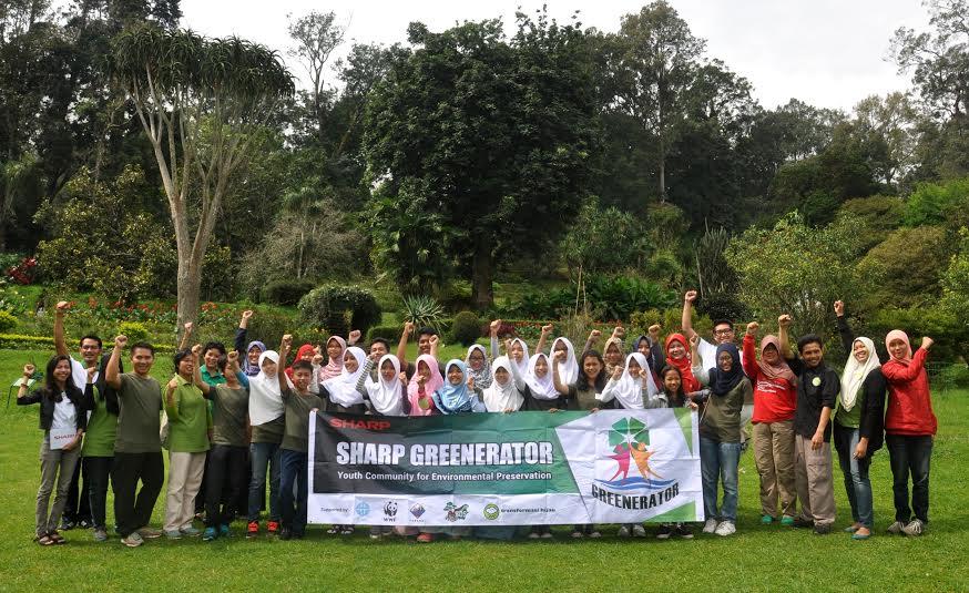 Peringati Earth Hour, SHARP Lantik Presiden Komunitas Muda Peduli Lingkungan