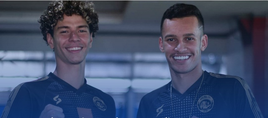 Dua Pemain Muda asal Brasil Resmi Perkuat Arema FC