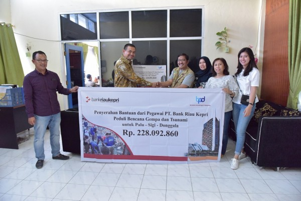 BRK Peduli Korban Gempa dan Tsunami Palu, Sigi dan Donggala