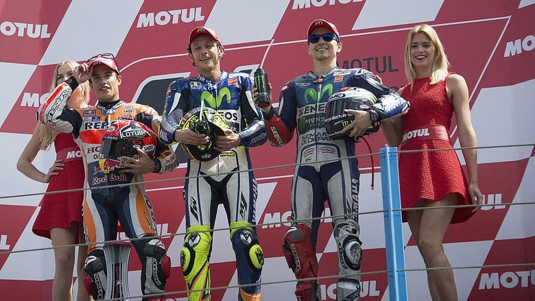 Sengitnya Persaingan Marquez, Lorenzo, dan Rossi