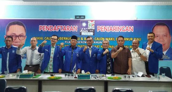 Daftar Penjaringan Balon Gubri PAN Riau Resmi Ditutup