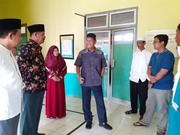 Wakil Bupati Inhil Samsudin  Uti  Tinjau  UPT Puskesmas Kecamatan Mandah