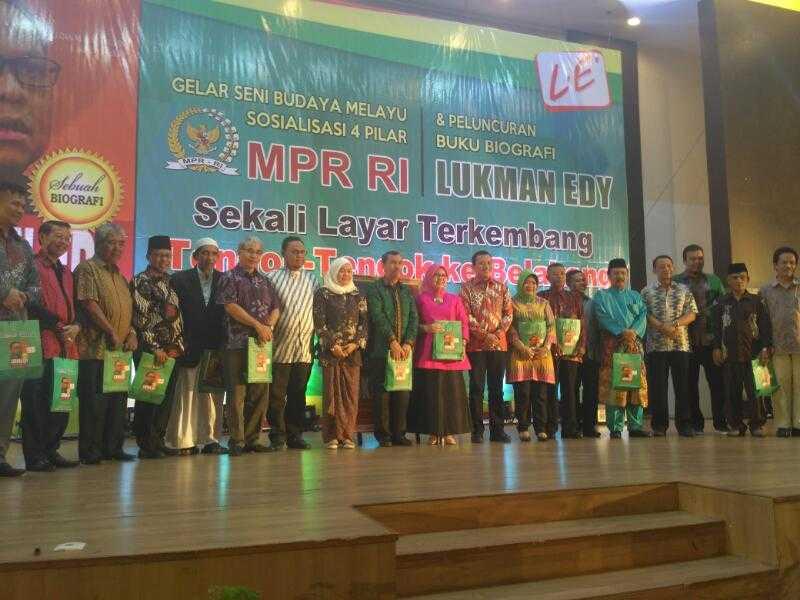Ditunjuk PKB Calon Gubernur Riau, Lukman Edy Ajak Syamsuar Berduet