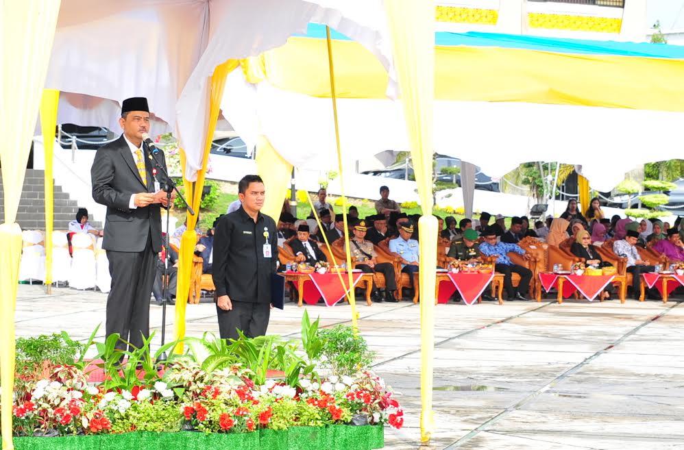 Sekda Prov Riau Pimpin Upacara Peringatan HUT PGRI