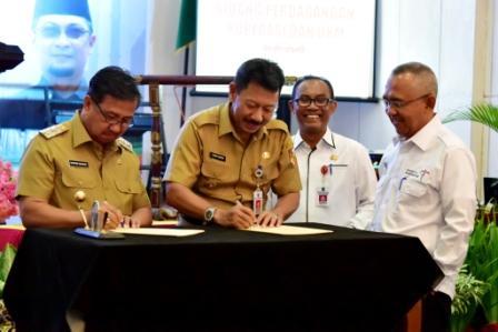 Wabup Inhil Rosman Hadiri Rakornis Perdagangan, Koperasi dan UKM 2017