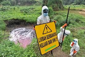 Limbah Pertamina di Lirik Berbahaya Bagi Kesehatan