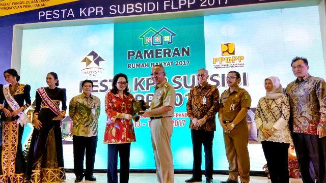 Gubri Resmikan Pameran KPR Sejahtera FLPP  2017