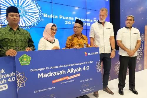 XL Axiata dan Kemenag Luncurkan, Madrasah Aliyah 4.0