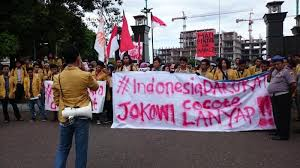 Ratusan Polisi Disiagakan saat Aksi Bela Rakyat 121