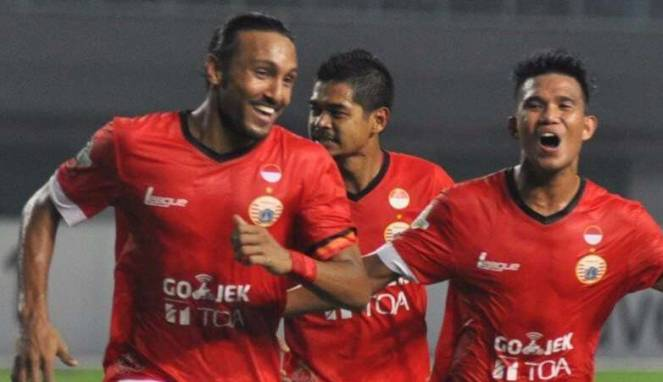 Tekuk Sriwijaya 1-0, Persija Melejit ke Papan Atas Liga 1