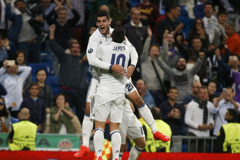 Gol Morata  Bawa Madrid Kalahkan Sporting 2-1