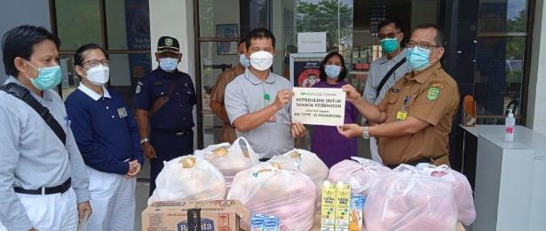 Yayasan Buddha Tzu Chi PT IKPP Perawang Berikan Bingkisan Kepada Petugas Medis