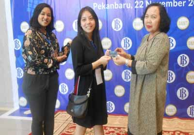 Kampanye GNNT, BI Riau Sasar Generasi Milenial