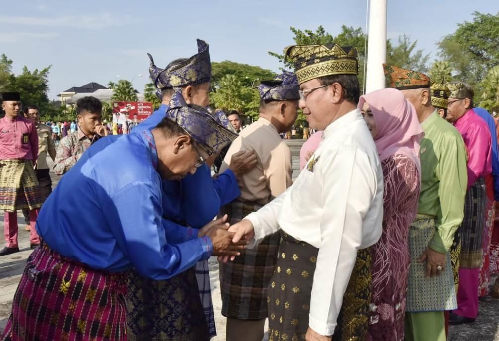 Apel Perdana, Momen Silaturahmi Jajaran Pemkab Inhil
