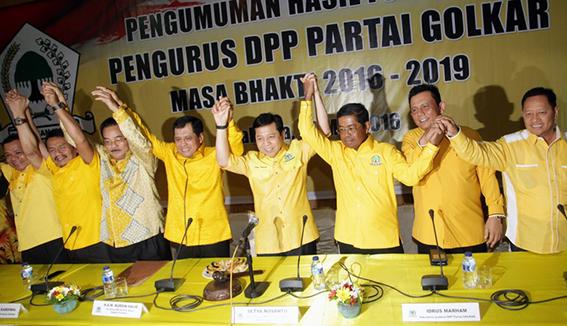 Inilah Susunan Pengurus DPP Golkar 2016-2019