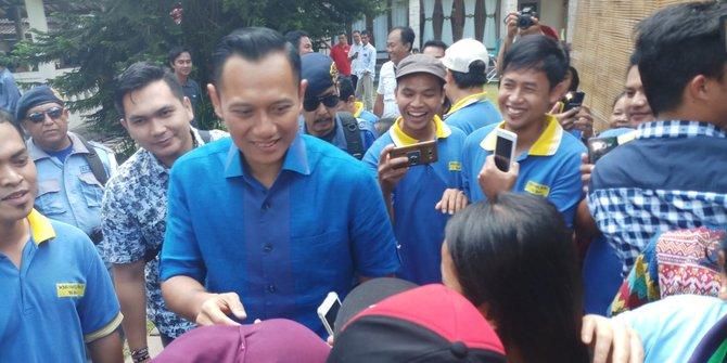 AHY: Saya dan Pak SBY akan terus turun ke masyarakat demi Indonesia