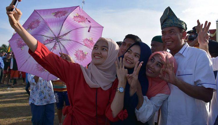Dukungan Masyarakat Riau ke Firdaus-Rusli Semakin Meluas