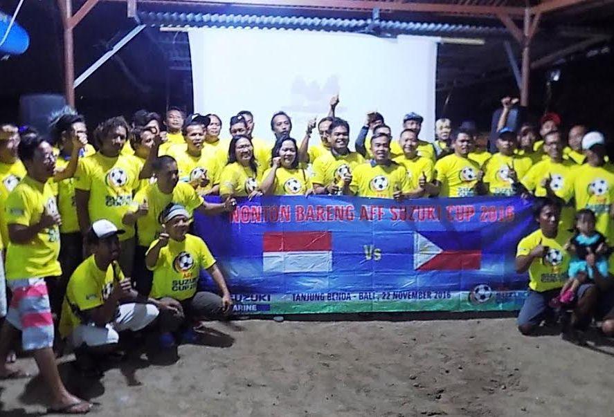 """"""" Nonton Bareng AFF Suzuki Cup 2016 di Tanjung Benoa"""""""