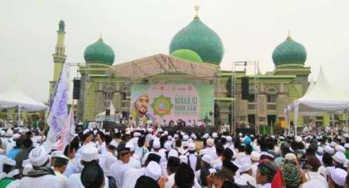 Adakan Tabligh Akbar Maulid Nabi Muhammad SAW