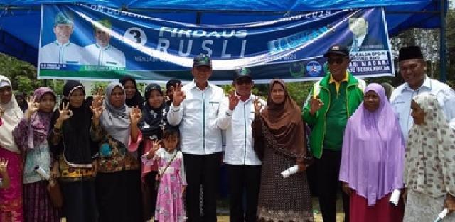 PPP Gerakkan Seluruh Mesin Partai, Firdaus-Rusli Optimis Menang