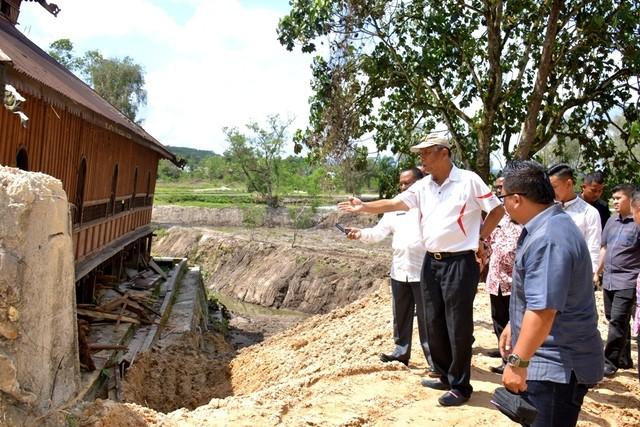 Bupati Kampar Tinjau Taman Rekreasi Bangkinang