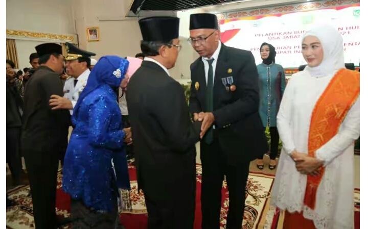 HM Wardan Cuti, Gubri Lantik Pj Bupati Inhil