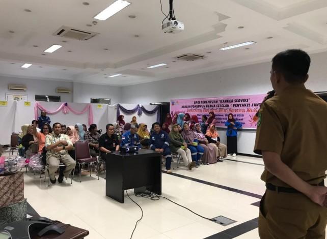 Karyawan PT CPI Taja Pemeriksaan Kanker Serviks