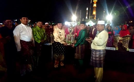 MTQ ke-18 Kabupaten Rohul 2018 Resmi Ditutup Bupati, Kafilah Rambah Juara Umum Lagi