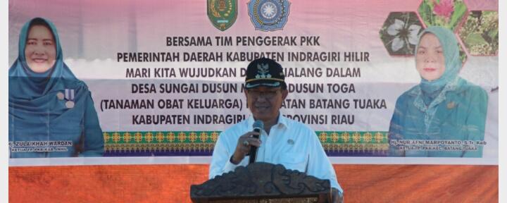 Wardan: Kita Akan Promosikan Dusun Sialang Dalam, Desa Sungai Dusun Sebagai Desa Percontohan