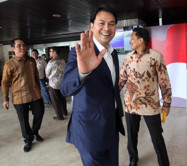 Aziz Syamsuddin Tak Dilantik Jadi Ketua DPR