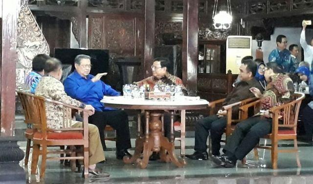 Pertemuan SBY-Prabowo Akan Berlangsung Hari Ini
