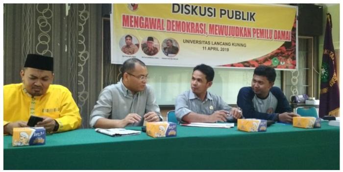 Satma PP Gandeng KPU dan Bawaslu Gelar Diskusi Publik di Unilak