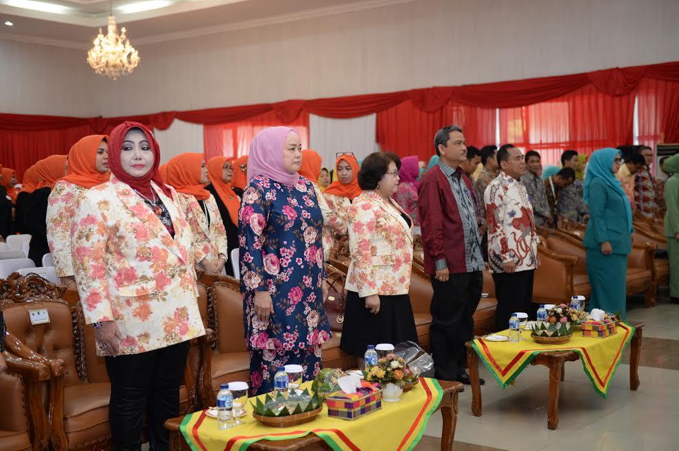 Sekda Prov Riau Hadiri Pelantikan DPD Perkumpulan Perempuan Wirausaha Indonesia  Riau