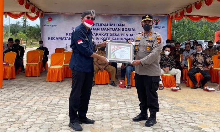 SKK Migas Apresiasi Polres dan DLHK Rohul Dukung Penyelamatan Lingkungan di Pendalian