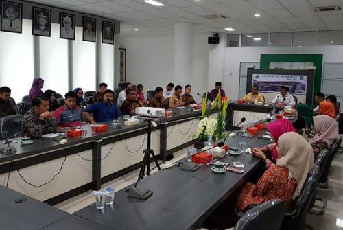 30 PTS  Riau Sepakat Tunjuk WR III UIR Ketua Forkomawa