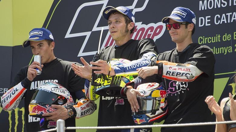 Valentino Rossi Fokus Kejar Marc Marquez
