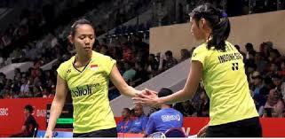 Rizki Amelia Pradipta/ Della Destiara Haris Singkirkan Juara Dunia